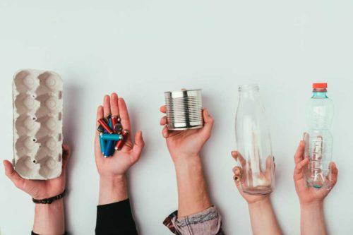 10 Idee per ridurre i rifiuti in casa