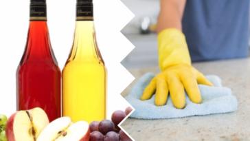 cosa pulire con l'aceto in casa