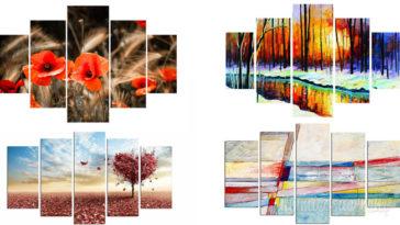 Arredare con i quadri spendendo poco e senza fare buchi al muro