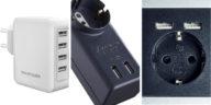 Prese elettriche da muro USB: e tutto è in ordine!