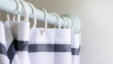 Come pulire le tende della doccia