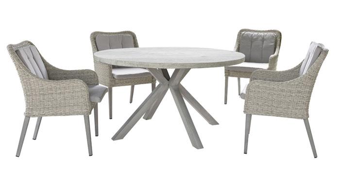 Tavolo Sedie Giardino Rattan.Tavoli E Sedie Da Giardino Soluzioni Per Ogni Ambiente Casa