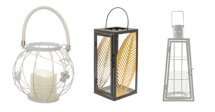 Lanterne portacandele