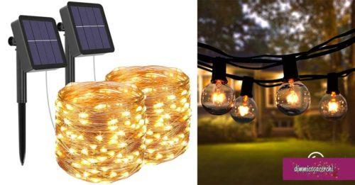 Illuminazione esterna: soluzioni creative e belle