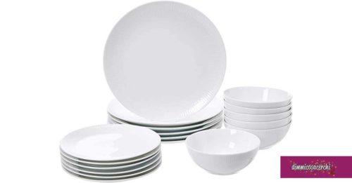 Servizi di piatti eleganti