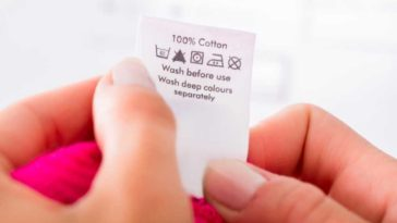 Simboli lavaggio: significato